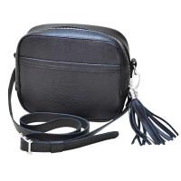 Женская кожаная сумка Era черная kb-03-01.