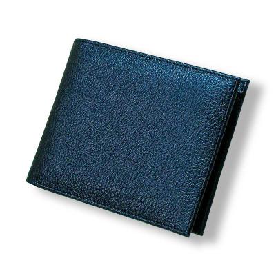 Мужской кошелёк кожаный с тиснением флотар pm-01-01.